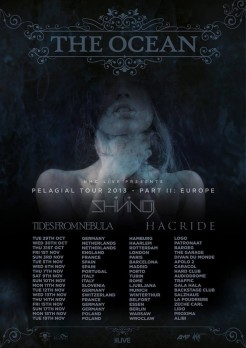 The Ocean Pelagial tour 2013