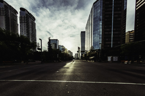 Downtown Silence - August 2014
